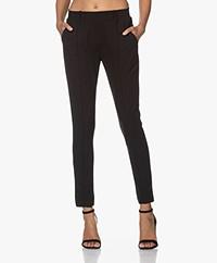 Josephine & Co Janne Crepe Jersey Pants - Black