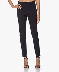 Josephine & Co Jerome Slim-fit Travel Jersey Pants - Navy