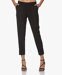 Closed Stewart Viscosemix Pantalon - Zwart