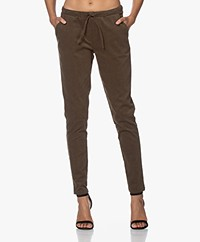 Woman by Earn Fae Corduroy Broek - Army