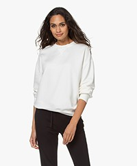 Filippa K Soft Sport Lyocell Mix Sweatshirt - Off-white