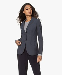 Josephine & Co Rachel Bonded Travel Jersey Blazer - Grey