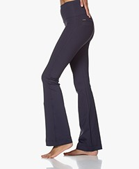 Deblon Sports Celine Flared Leggings - Navy