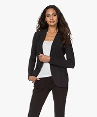 Josephine & Co Rachel Bonded Travel Jersey Blazer - Black