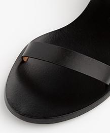 ATP Atelier Cachi Vacchetta Sandalen met Hak - Zwart
