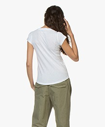 Zadig & Voltaire Skinny Blason Print T-shirt - White