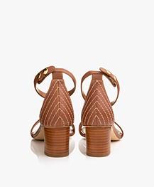 Filippa K Belinda Mid Heel Sandalen - Amber