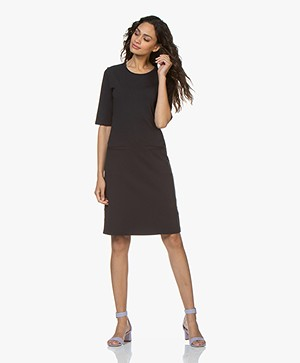 Filippa K Front Pocket Shift Dress - Navy