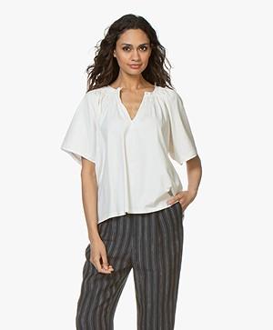 Vanessa Bruno Liora Wide Sleeve T-shirt - Ecru