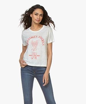 Zadig & Voltaire Marta Angels Print T-shirt - Judo