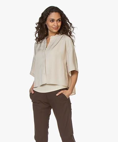 Filippa K Tammy Short Sleeve Shirt - Beige