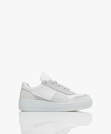 Filippa K Laura Hiker Leren Sneakers - Ivory