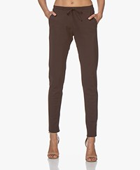 studio .ruig Bries Heavy Tech Jersey Pants - Cacao