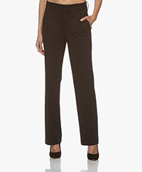 Drykorn Essay Jersey Straight-leg Pants - Black