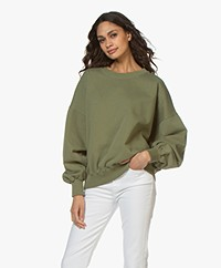 American Vintage Wititi Oversized Sweatshirt - Stem