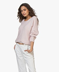 Repeat Dolman Sleeve Sweater - Rose