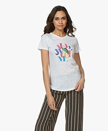 BY-BAR Moly Flame T-shirt - Bright White