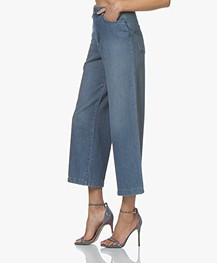 ba&sh Talent Cropped Jeans - Blue Jeans