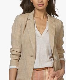 Josephine & Co Cara Linen Blazer - Sand