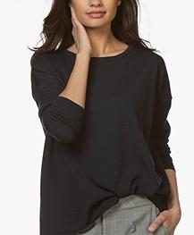 Sibin/Linnebjerg Alice Merino Sweater - Navy