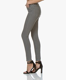 Rag & Bone High Rise Skinny Jeans - Rin Grijs
