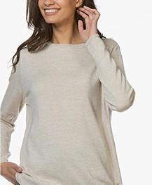Sibin/Linnebjerg Ballino Merino Sweater - Sand