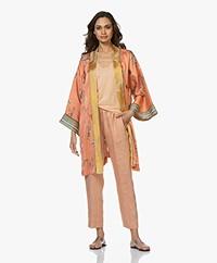 forte_forte Italian Riviera Kimono - Albicocca Design