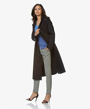 Filippa K Marisa Coat - Navy