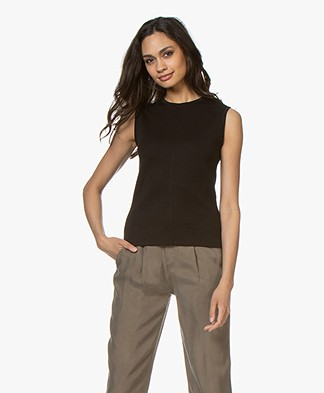Filippa K Double Face Cocktail Top - Black