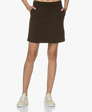 Filippa K Double Face Pocket Skirt - Black