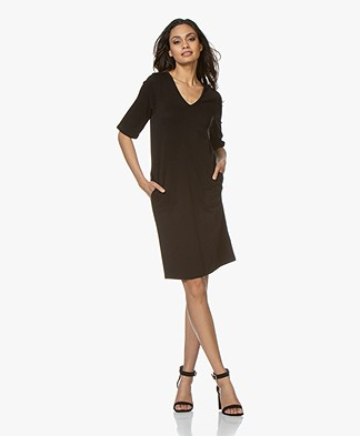 Filippa K Double face Jersey Dress - Black