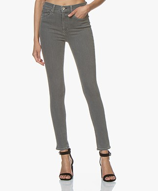 Rag & Bone High Rise Skinny Jeans - Rin Grey