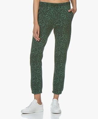 Ragdoll LA Vintage Leopard Sweatpants - Green