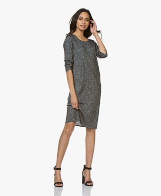 Sibin/Linnebjerg Bolzano Knitted Dress - Anthracite