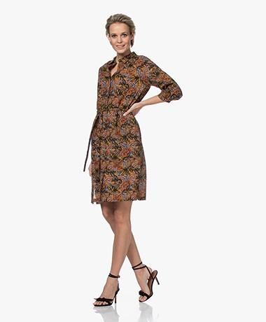MKT Studio Reynolds Printed Cotton Shirt Dress - Multi-color