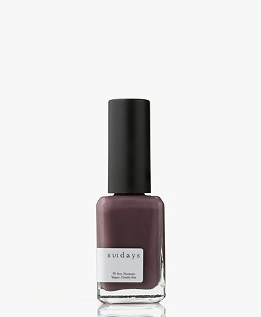 Sundays Opaque Nr. 21 Nail Polish - Purple Grey