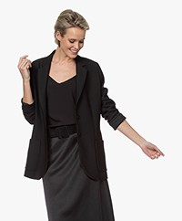 LaDress Carey Crêpe Blazer - Zwart