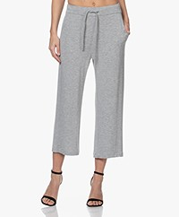 Majestic Filatures Cropped Sweatpants - Grey