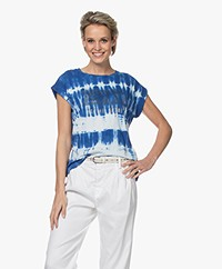 MKT Studio Tilove Tie-dye Print T-shirt - Blauw
