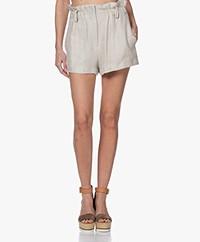 IRO Asty Paperbag Shorts - Ecru