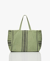 indi & cold Cotton Shopper - Basilico