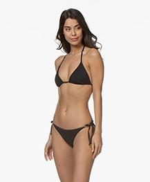 Calvin Klein Triangle Bikini Top - Black
