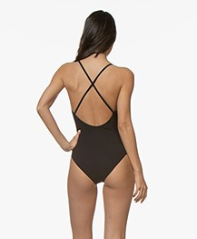 Filippa K Soft Sport Cross-back Swimsuit - Black
