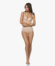 SPANX® OnCore Open-Bust Bodysuit - Soft Nude