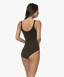 SPANX® OnCore Open-Bust Bodysuit - Zwart