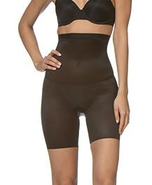 SPANX® Skinny Britches High-Waisted Short - Zwart