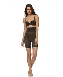 SPANX® Skinny Britches High-Waisted Short - Black