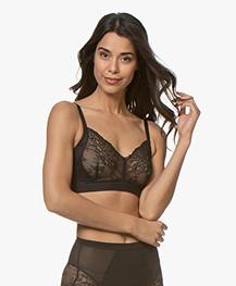 SPANX® Spotlight on Lace Bralette - Very Black