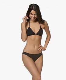 Filippa K Soft Sport Triangle Bikinitop - Zwart