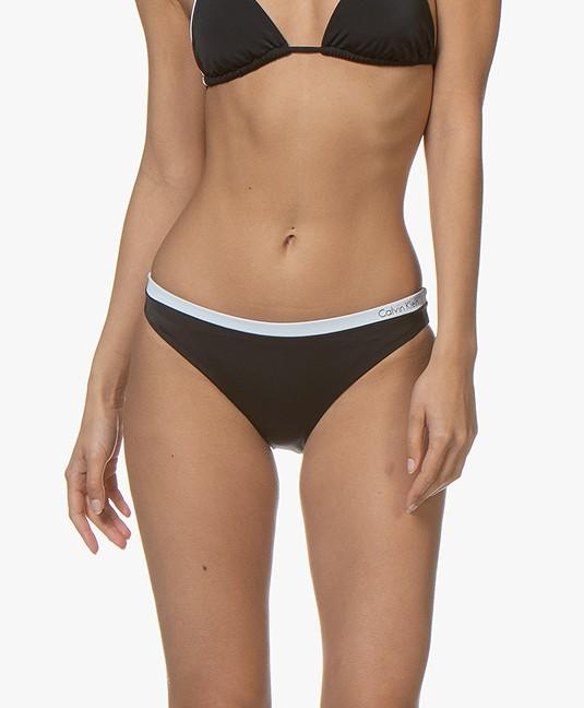 Calvin Klein Classic Bikinislip met Logo - Zwart
